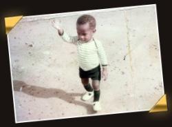 Drogba çocukluk