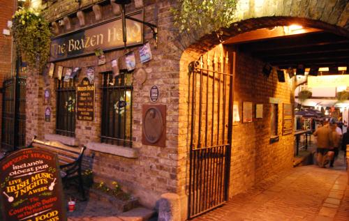 Dublin'de bir bar.