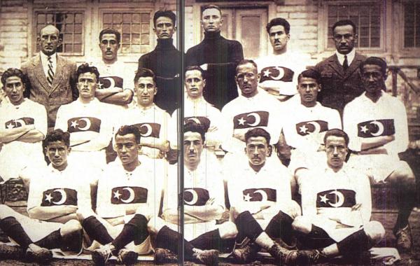 Paris Olimpiyatları'na katılan Milli Takımımız (Kaynak: NTV Tarih dergisi)