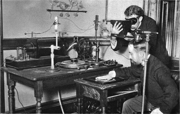 ilk röntgen cihazı